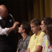 Stage hypnosis is a unique form of entertainment.