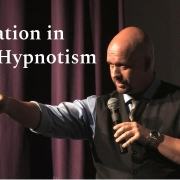 Stage hypnotism is an art form.